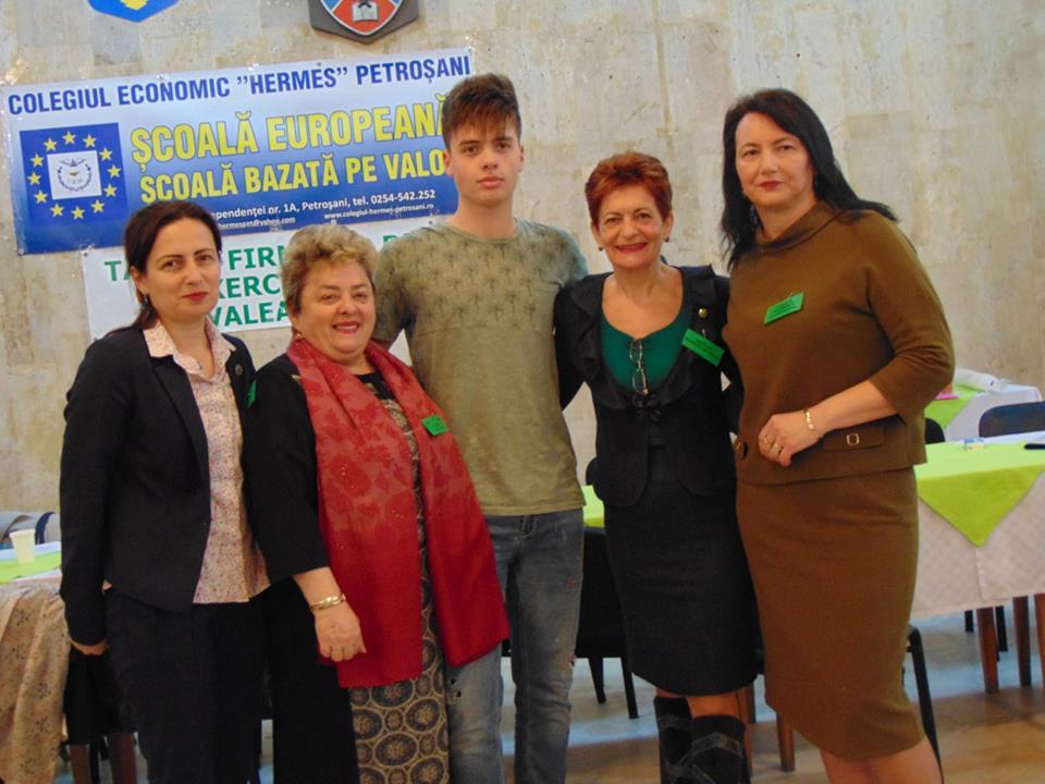 Târgul firmelor de exercițiu – Petroșani 12 aprilie 2019
