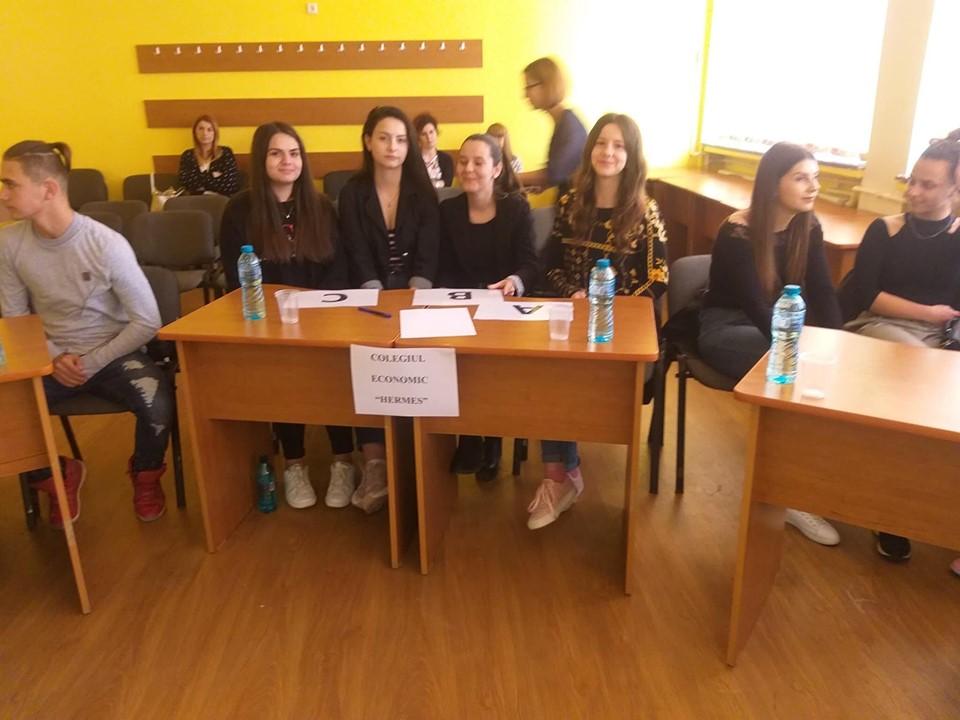 """Concursul """"Libertati fundamentale"""" in cadrul Proiectului """"Justitia pentru tineri"""", coordonat de Colegiul Economic """"Hermes"""" Petrosani – 23 mai 2019"""