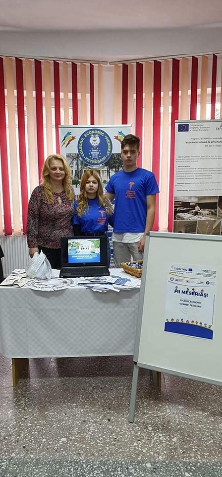 Târgul ofertelor educaționale pentru învățământul profesional, dual și tehnic– FII MESERIAȘ – 16 mai 2019 – organizat la Camera de Comerț și Industrie Hunedoara
